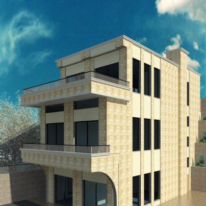 תכנון מבנה מסחר ומשרדים בצפון