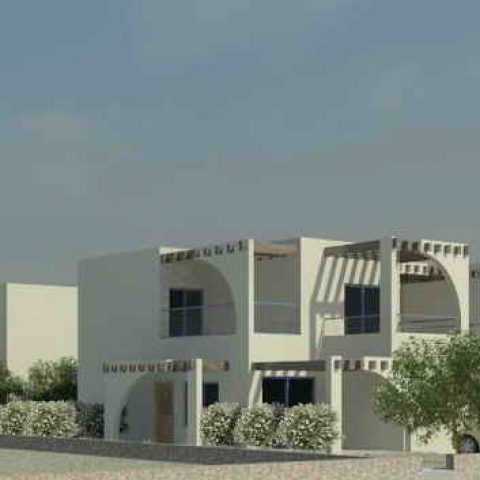 תכנון בניין דירות נופש המשקיף לנוף א. אדריכלים